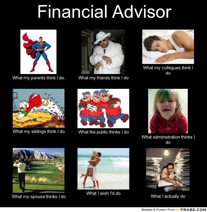 What financial advisers do