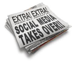 social media takes over