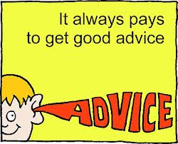 Good advice pays!
