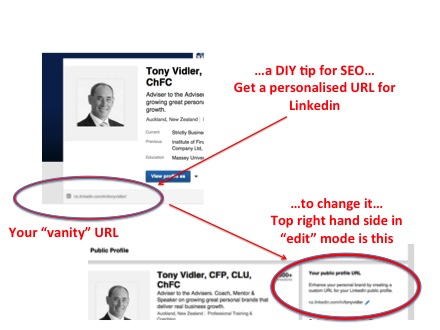 How To Personalise Your LinkedIn URL
